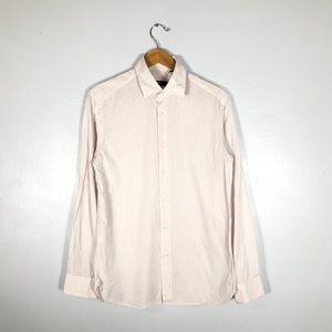 BOSS HugoBoss STIRLING Pink/White Striped - 15.75